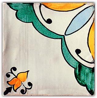 Azulejos de cerámica realizados de forma artesanal, especiales para baños, cocinas, patios etc. Óptimo para exterior e interior. CAJA DE 10 UNIDADES