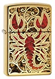 Zippo 60.002.138Briquet Scorpion Collection Spring 2016, Brillant Brass