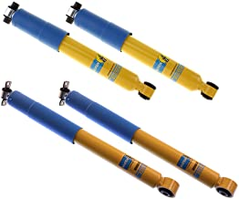 NEW BILSTEIN FRONT & REAR SHOCKS FOR 92-99 4WD CHEVY & GMC K1500 SUBURBANS AND 99-00 CADILLAC ESCALADE, 46MM GAS PRESSURE SHOCK ABSORBERS, BASE LS LT SLE SLT 1992 1993 1994 1995 1996 1997 1998 1999