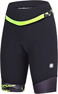 Women's Cycling Shorts with 3D Padded Bike Shorts with Reflective Elements