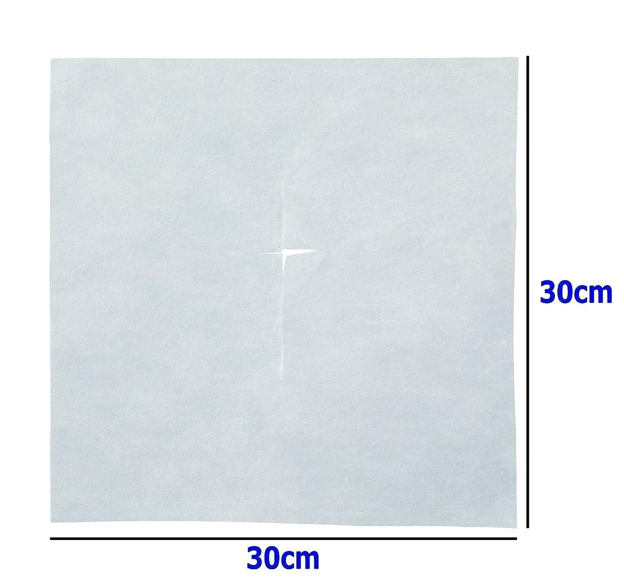 心のこもったワードローブ不透明なTheBeauty クロスカット ピローシート 30×30㎝ 200枚入 / フェイスペーパー