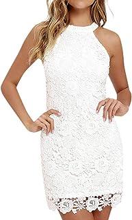 Amazon Es Vestidos Ibicencos Mujer Blanco Ropa
