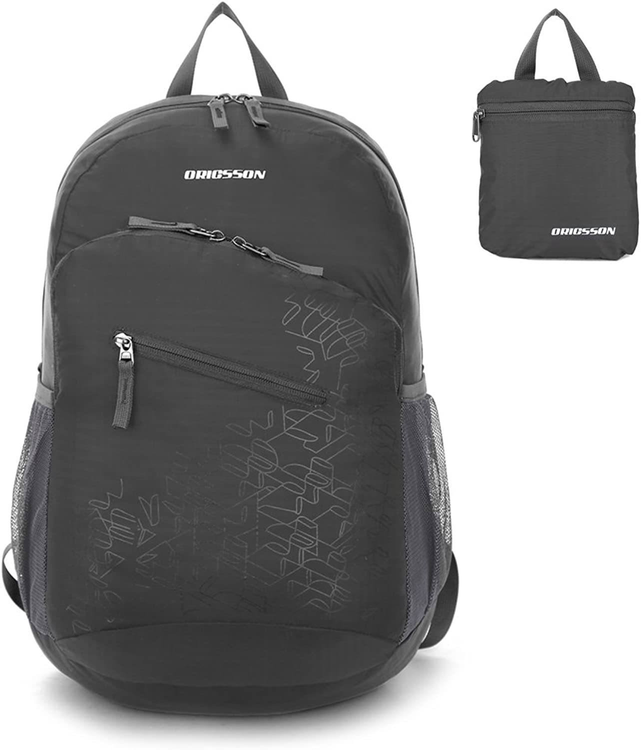 ORICSSON Travel Sports Lightweight Water Resistant Durable Foldable Backpack Daypack 33L 20L