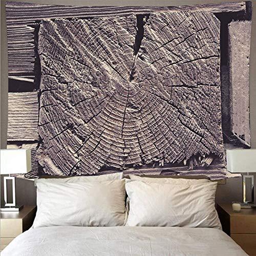 KHKJ Patrón de Textura de Madera Retro paño de Pared Tapiz de Arte Grande psicodélico Colgante de Pared Toalla de Playa Manta Fina A5 200x180cm