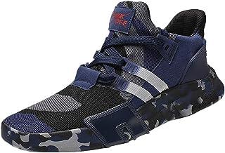 comprar comparacion riou Zapatillas Deporte Hombre Transpirable Ligeras Moda Camuflaje Zapatos para Deportivo versátil Calzado Casuales Gimnas...
