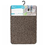 JVL Tanami Machine Washable Barrier Door Mat, Brown, 50 x 75 cm