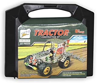 Tractor Shaped Meccano Set - 227 Pieces
