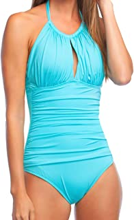 kenneth cole high neck swimsuit
