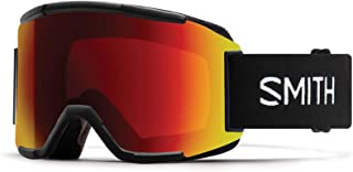 Smith Optics Snow Goggle, CHROMAPOP SUN RED MIRROR Lens, BLACK 632