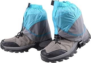 Azarxis Gaiters Low Gators Snow Ankle Gaiters for Women & Men & Youth Outdoor Hiking Walking Backpacking Lightweight Waterproof Adjustable Sand Proof