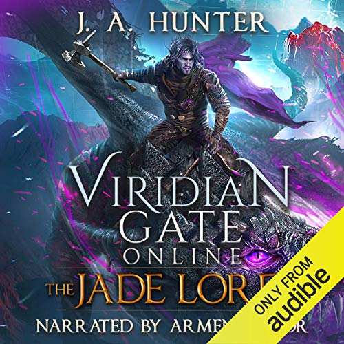 Couverture de Viridian Gate Online: The Jade Lord: A litRPG Adventure
