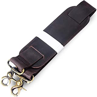 Genuine Leather Durable Strap Replacement Leather Adjustable Shoulder Strap