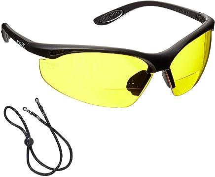 e3869d5342 voltX 'CONSTRUCTOR' Gafas de Seguridad de Lectura BIFOCALES que cumplen con  la certificación CE