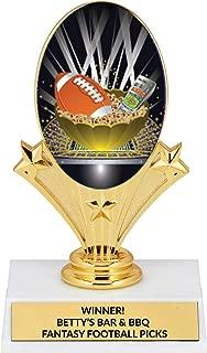 Fantasy Football Trophy - Custom Fantasy Football Team Picks Trophy