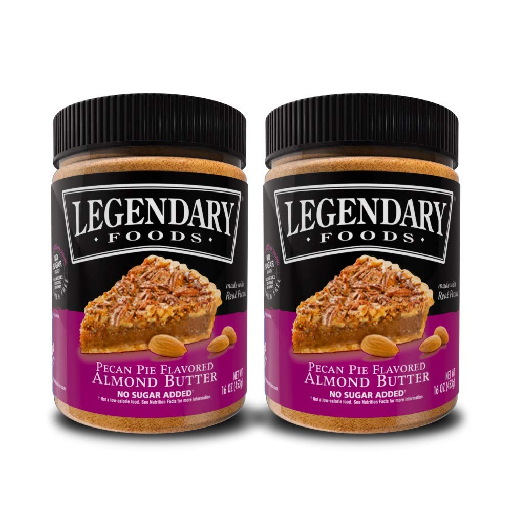 Legendary Foods Pecan Pie Max Free shipping anywhere in the nation 43% OFF Almond Nut oz Jar 16 Butter Low