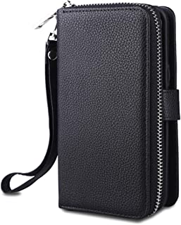 Samsung Galaxy S8 Funda Cartera de Cuero en Negro//UK shop Despacho Rápido Gratis P/&P