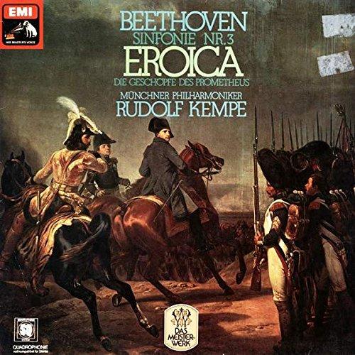 Ludwig van Beethoven , Münchner Philharmoniker , Rudolf Kempe - Sinfonie Nr. 3 Eroica / Die Geschöpfe Des Prometheus - Die Stimme Seines Herrn - 1C 037-02 507 Q