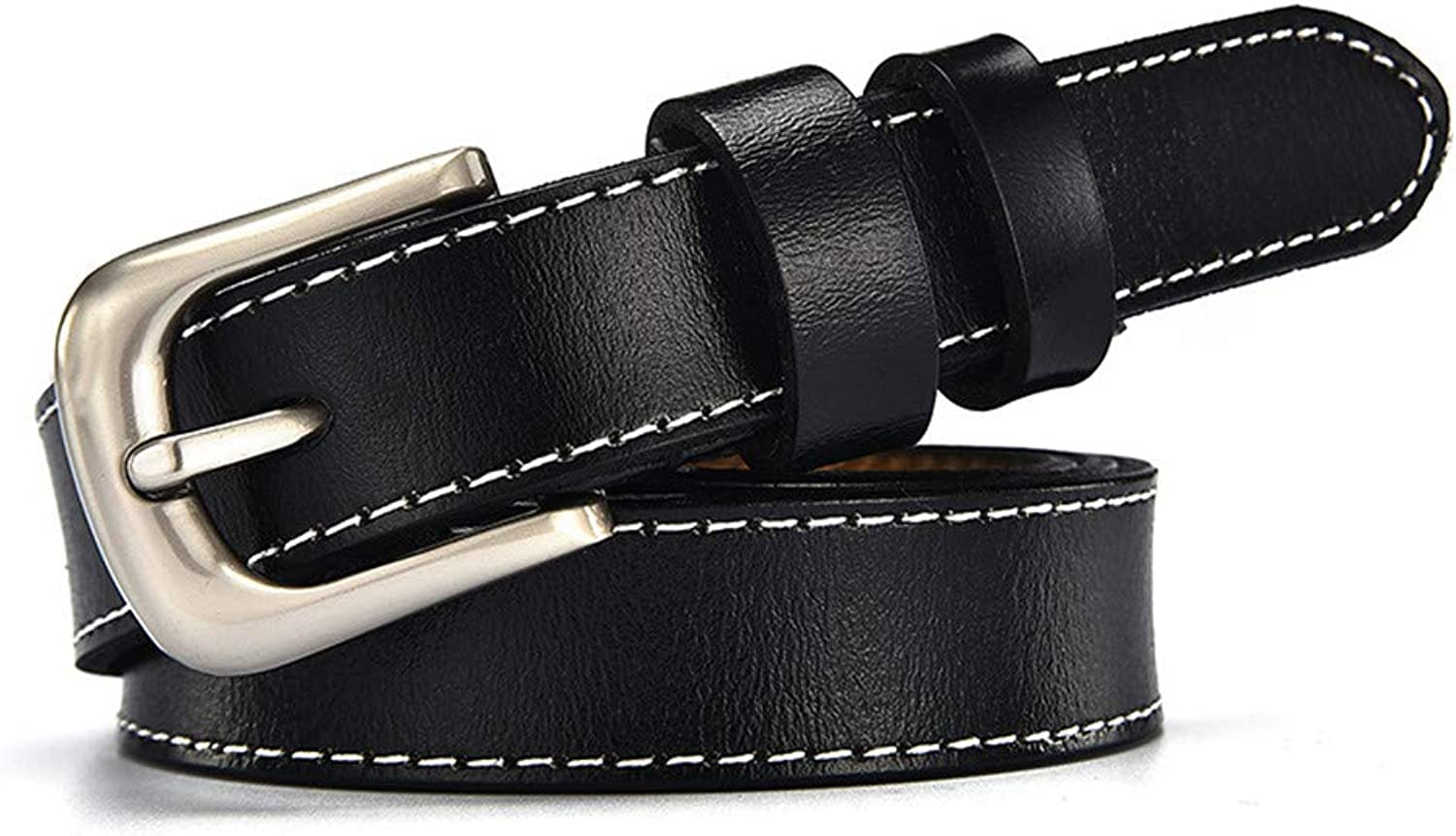 Women's Belts, Thin Belts, Decorative Skirts and Belts.black105CM