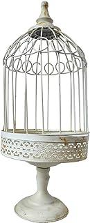 Nostalgia Metallo Gabbia per Uccelli Deco Decorazione 40 cm Shabby