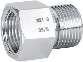 Pssopp Adattatore per regolatore di CO2 per Acquario Serbatoio per CO2 Converter per Acquario Convertitore per connettore Strumento per Acquario con Guarnizione W21.8 to G5//8