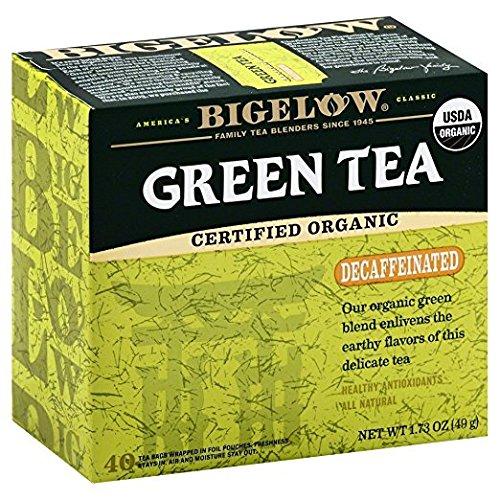 Bigelow Organic Green Decaf Tea 1.73 OZ(Pack of 3)