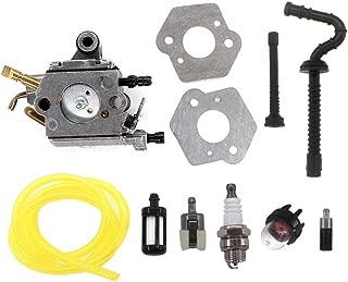 AISEN Carburetor Fuel LINE Filter for STIHL MS192T MS192TC C1Q-S125 C1Q-S258 1137 120 0650