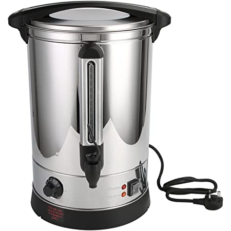 Coffee Urn for Home Brewing Commercial or Office Use Catering Urn Stainless Steel 20 Litre Hot Water Boiler