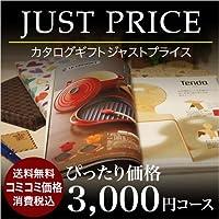 カタログギフト CATALOG GIFT 3000円JUST PRICEコース(A523) ジャストプライス