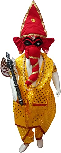 Shri Ganesha Hindu God Kids Adults Fancy Dress Costume