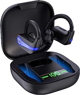 Wireless Earbuds, Bluetooth 5.1 Wireless Headphones Sports Bluetooth Earphones in Ear Noise Cancelling Earbuds with Mic De...