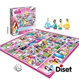 Diset - 46583 - Princesses Disney - Jeu de L'Oie