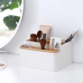Cosmetische Opslagorganisator, Multifunctionele Desktoporganisator, met 9 Bovenste Sleuven Desktoporganisator Desktopkast,...