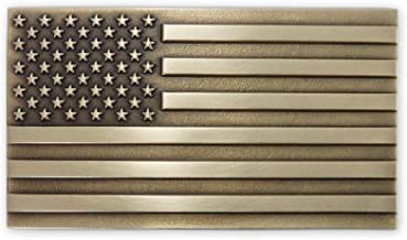 american flag belt buckle made in usa