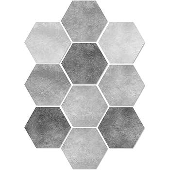 Autocollant Sticker Carrelage Mosa/ïque Lot de 20 Carrelage Adh/ésif Mural Salle de Bain Sol Cuisine Carreaux de Ciment 3D Carrelage Imperm/éable Collage des Tuiles DIY Scrox