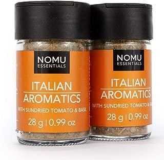 NOMU Essentials Italian Seasoning Blend ( 1.98 oz | 2-pack) | MSG & Gluten Free, Non-GMO & Non-Irradiated