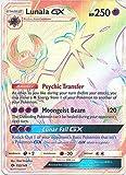 Pokemon Sun & Moon Base Set Hyper Rare Lunala-GX #153