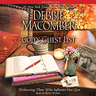 God's Guest List audiobook cover art