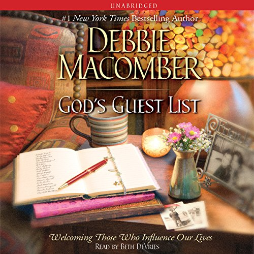 God's Guest List audiobook cover art