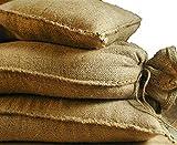 Noor Sacos de Arena de Yute, 20 kg (30 x 60 cm), 10 Unidades, Saco de Arena para inundaciones
