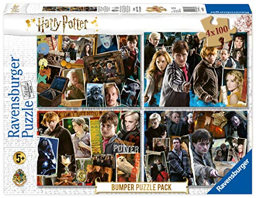 Ravensburger 06832 Harry Potter: 4x100 delen puzzel
