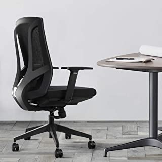 Ergonomic Office Chair High Back Mesh Desk Chair with Arm Rests Computer Chair Height Adjustable,Black