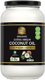 COCO EARTH Organic Extra Virgin Coconut Oil 1 Litre, 1 Count