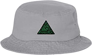 Adult Illuminati Eye of Providence Embroidered Bucket Cap Dad Hat