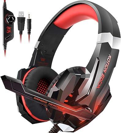 Insmart PS4 Gaming Headset, pieghevole over-ear Gaming cuffie con microfono a cancellazione di rumore e controllo del volume per PC laptop Mac Ninten - Trova i prezzi più bassi