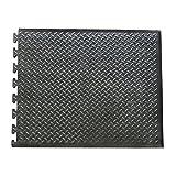 Rubber-Cal 03_146_Web_EN'FootRest' Interlocking AntiFatigue Floor Mat, End Tile, 1/2' x 28' x 31'