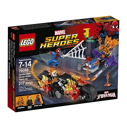 LEGO Super Heroes 76058 Spider-Man: Ghost Rider Team-up Building Kit (217 Piece) by LEGO