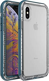 LifeProof NEXT Series Case for Apple iPhone Xs and X - Clear Lake Blue / Clear