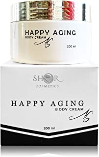 Active Body Cream with Hyaluronic Acid, Densorphin, Genistein, Lecigel | Anti Aging | Moisturizer and Firming Cream | Elastic | Smooth | Shinning skin