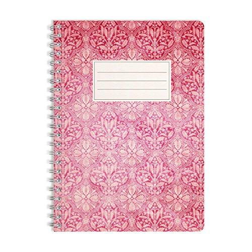 WIREBOOKS Notizbuch   Notizblock   Notizheft   Spiralblock 5031 DIN A5 120 Seiten 100g Papier liniert