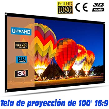 Pantalla de proyeccion Manual Luxscreen 100